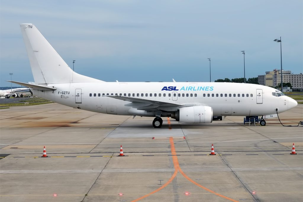 ASL Airlines France, F-GZTU, Boeing 737-73V
