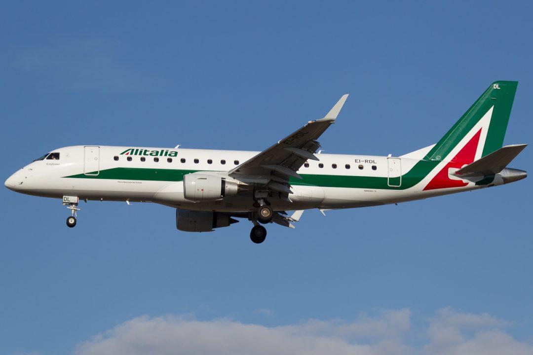 EI-RDL Alitalia Cityliner Embraer ERJ-175STD (ERJ-170-200) - cn 17000345