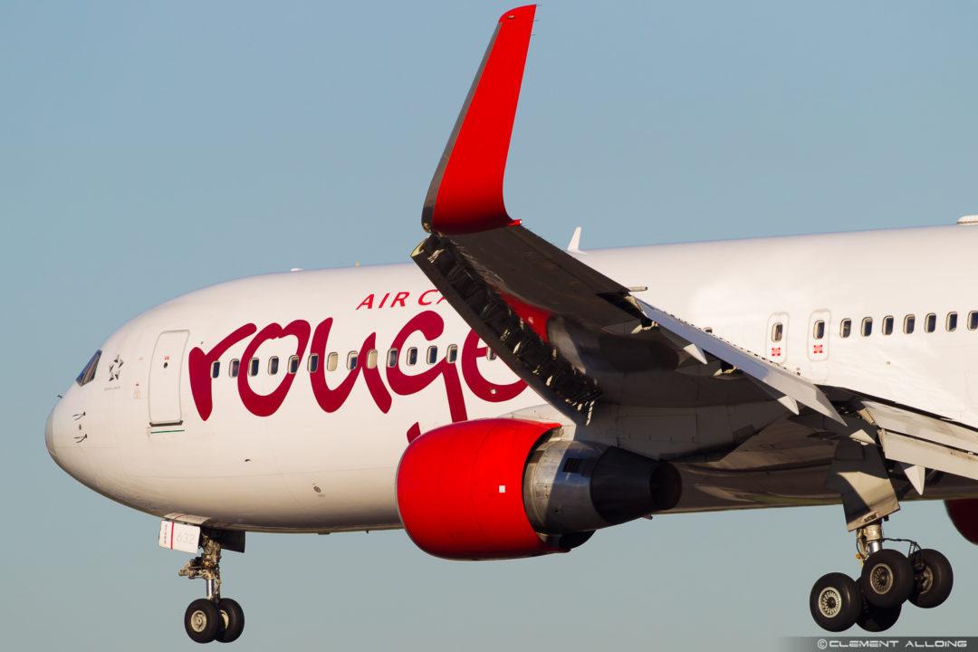 Air Canada Rouge Boeing 767-333(ER)(WL) cn 25584 / 596 C-FMWQ