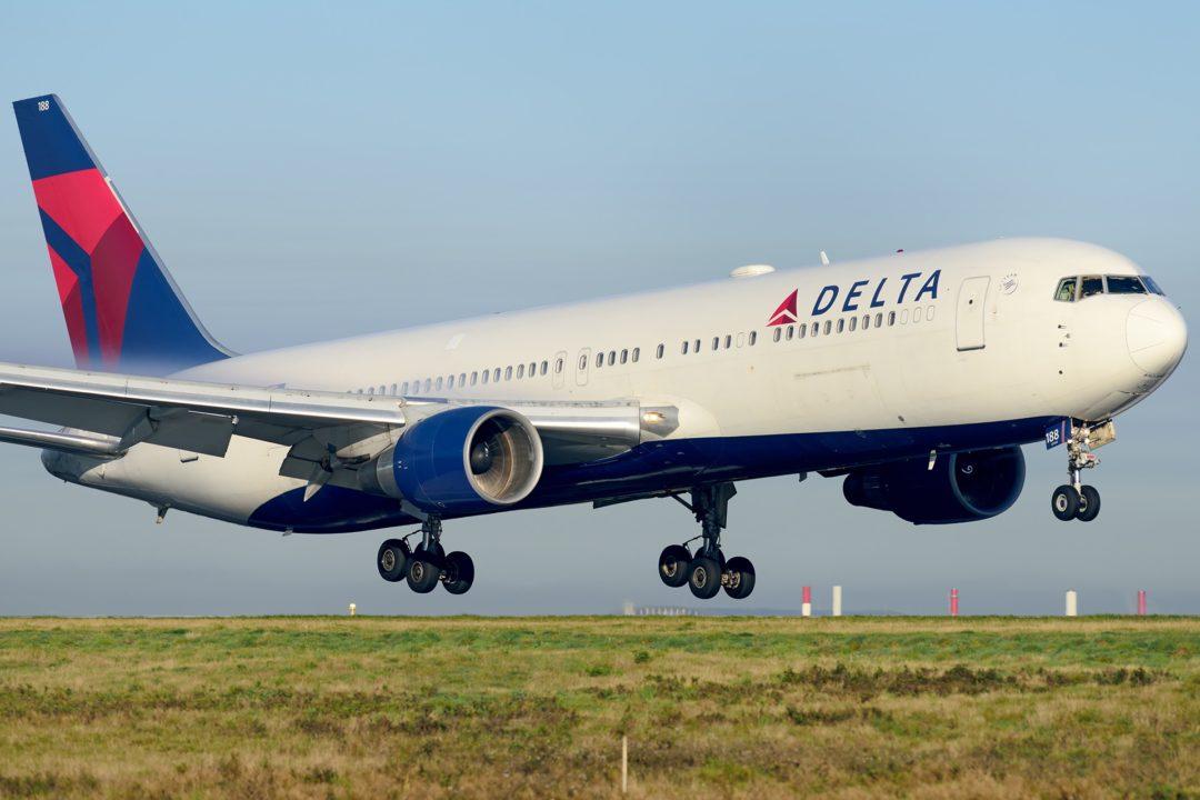 Boeing 767 Delta à Paris CDG