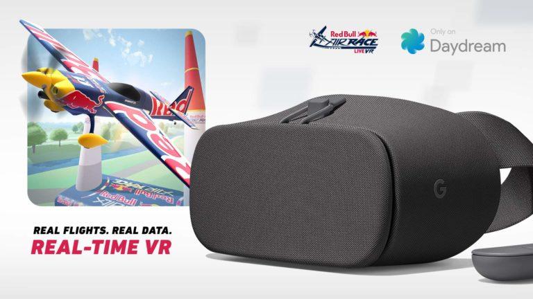 Red Bull Air Race LIVE VR via Daydream VR de Google
