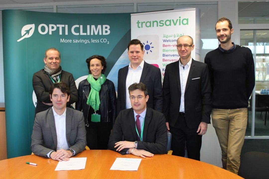 Signature de l'accord pour l'utilisation d'OptiClimb