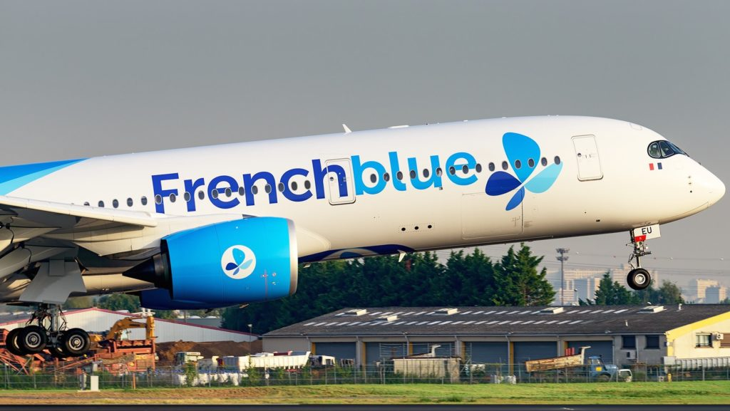 Airbus A350-941 Frenchblue F-HREU