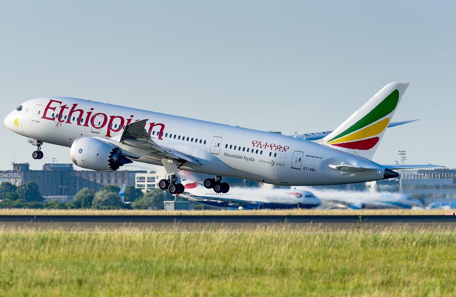 Boeing 787-8 Ethiopian Airlines