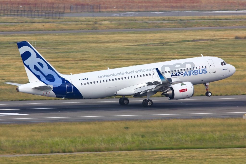 F-WNEW A320 NEO Airbus