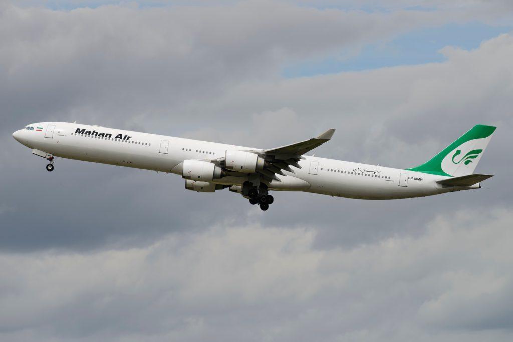 Airbus A340-642 Mahan Air (EP-MMH)