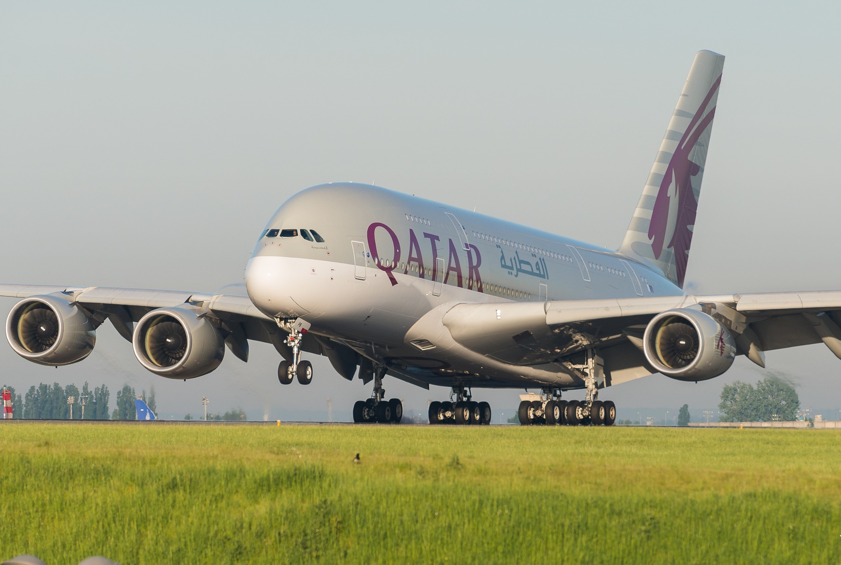 Airbus A380-841 Qatar Airways A7-APB