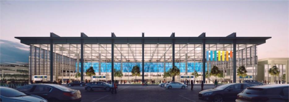Le futur cœur d'aéroport signé Norman Foster - livraison prévue pour 2022