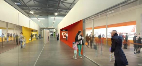 Extension et modernisation des salles d'embarquement du Terminal 2