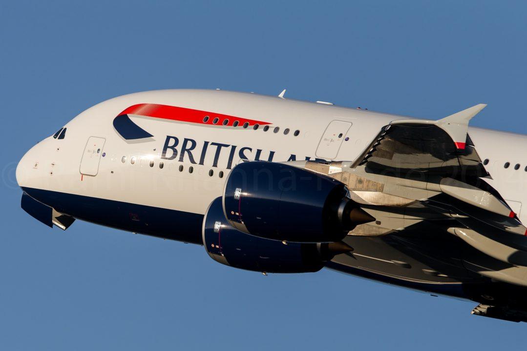 British Airways Airbus A380 G-XLEG / F-WWSK / MSN 161