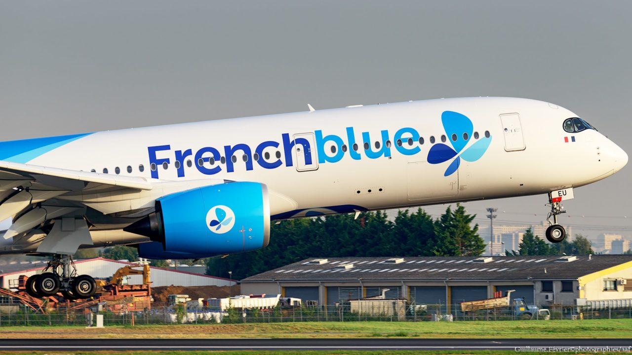Airbus A350-941 Frenchblue F-HREU