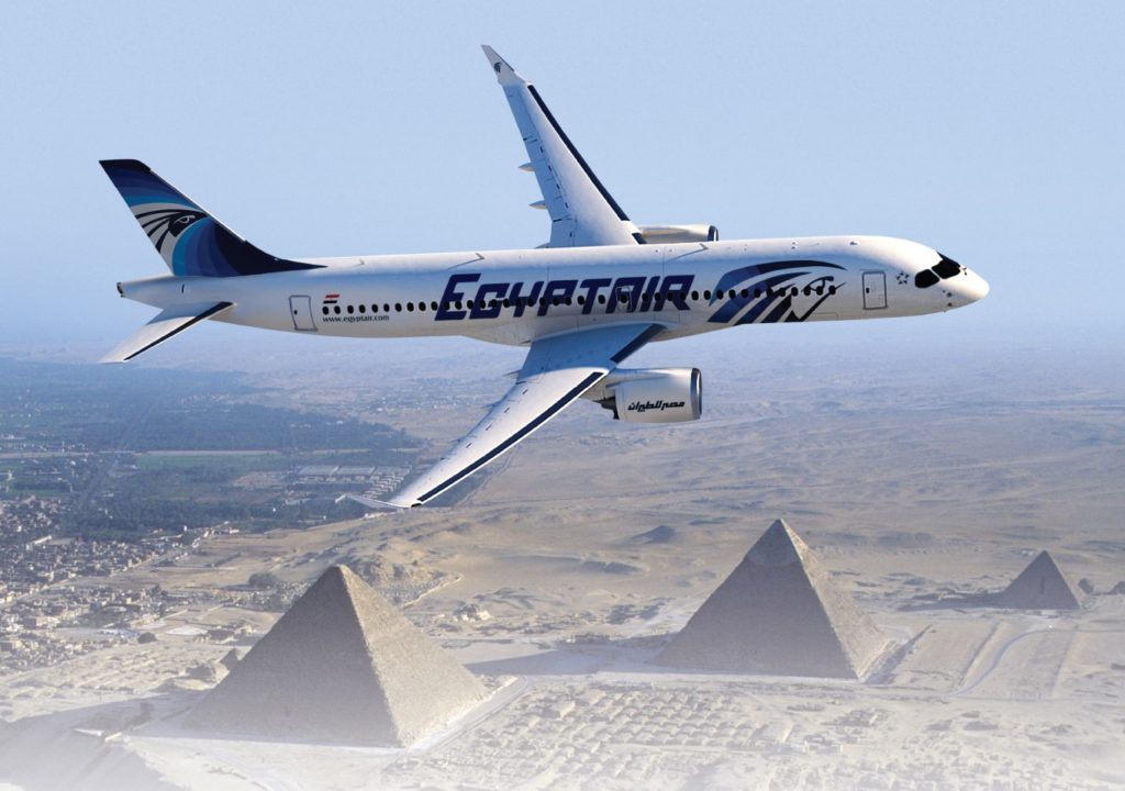 Vue d'artiste d'un CS300 EgyptAir
