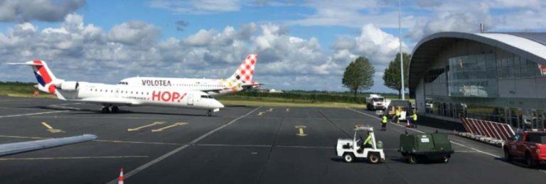 tarmac de l'aéroport de Caen-Carpiquet