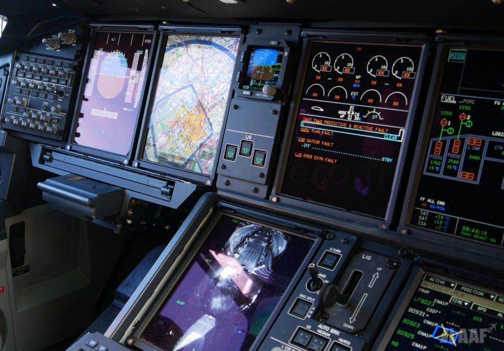 Cockpit A400M