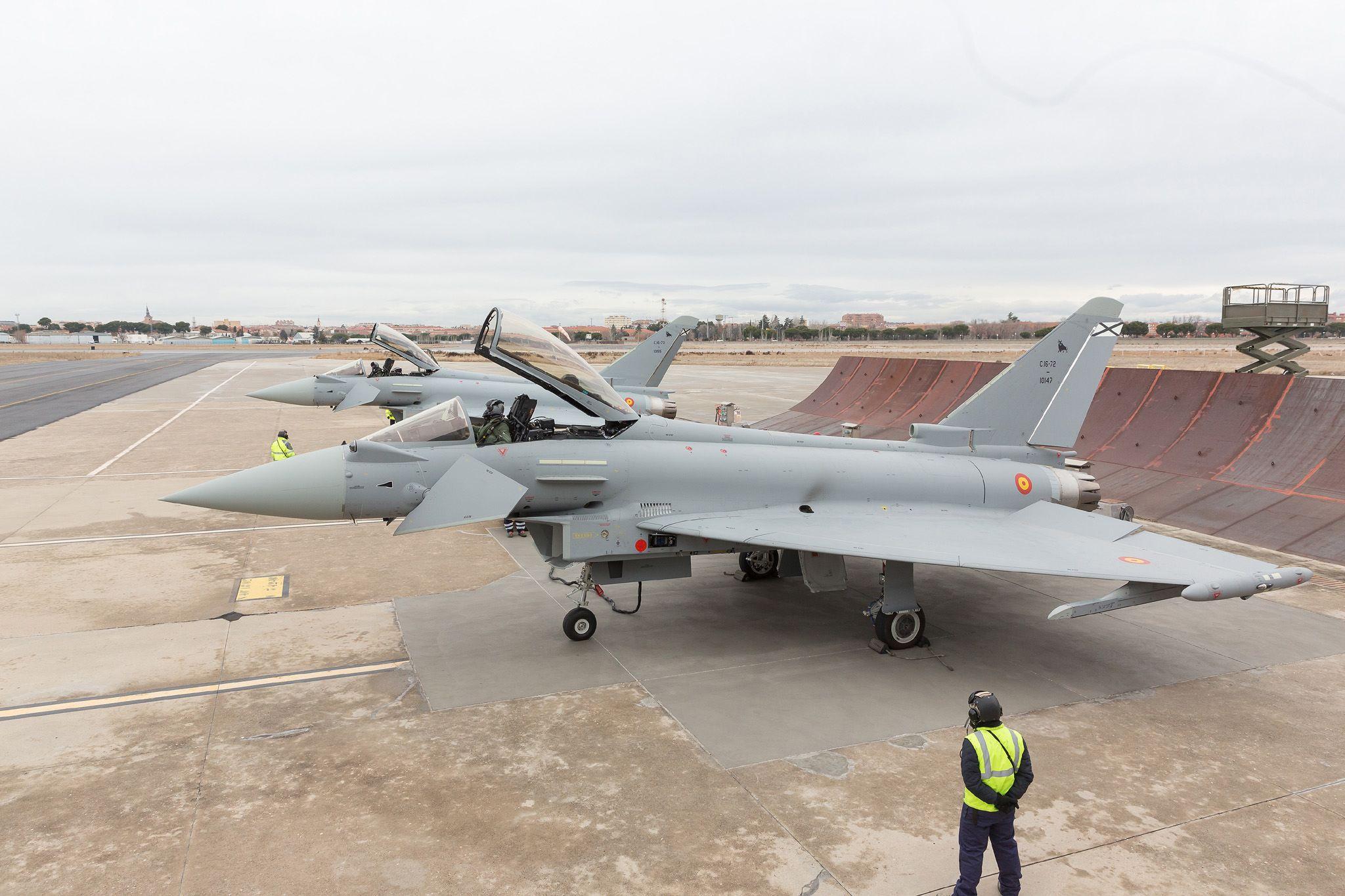 Eurofighter Typhoon en configuration P1Eb FW
