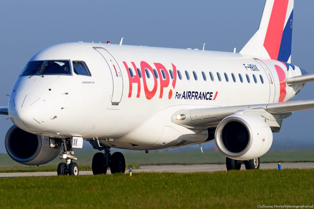 [F-HBXX] Embraer 170 HOP! Air France