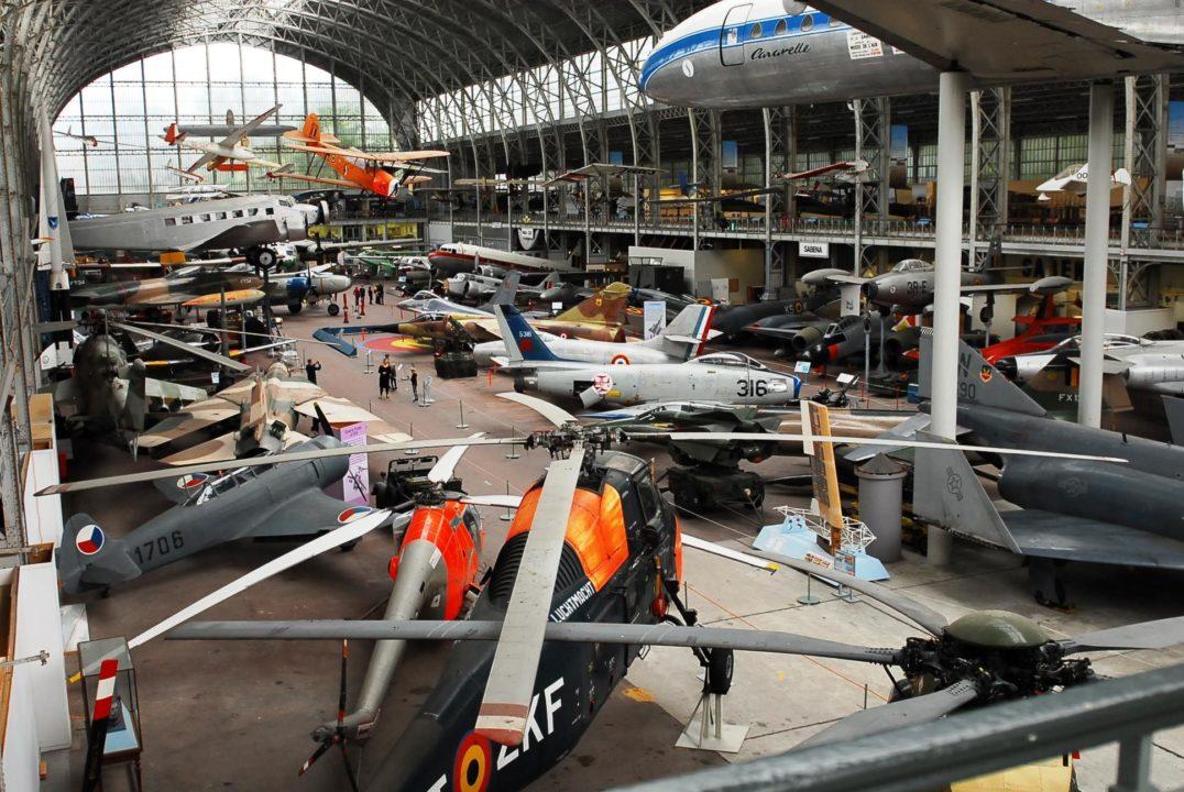 Hall de l'Air - Musée de l'Air et de l'Espace de Bruxelles