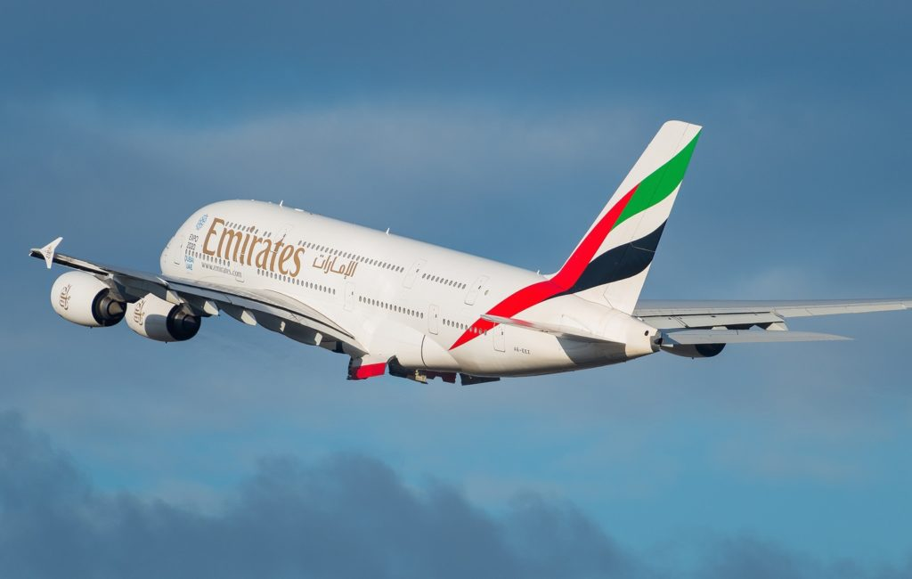 Airbus A380-861 Emirates A6-EEZ