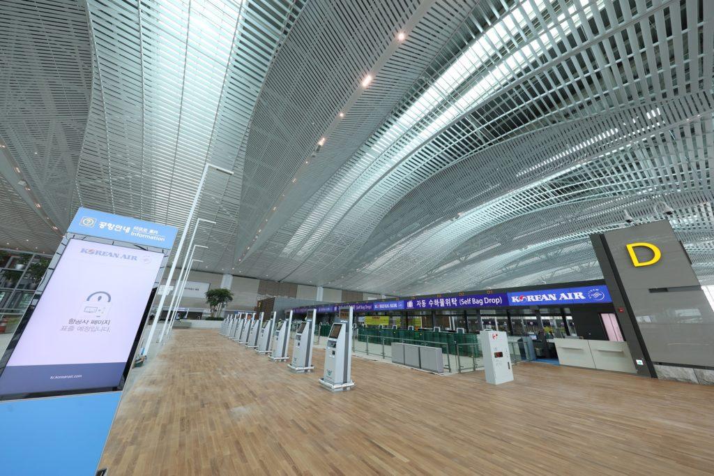 nouveau Terminal 2 de l'aéroport de Séoul-Incheon