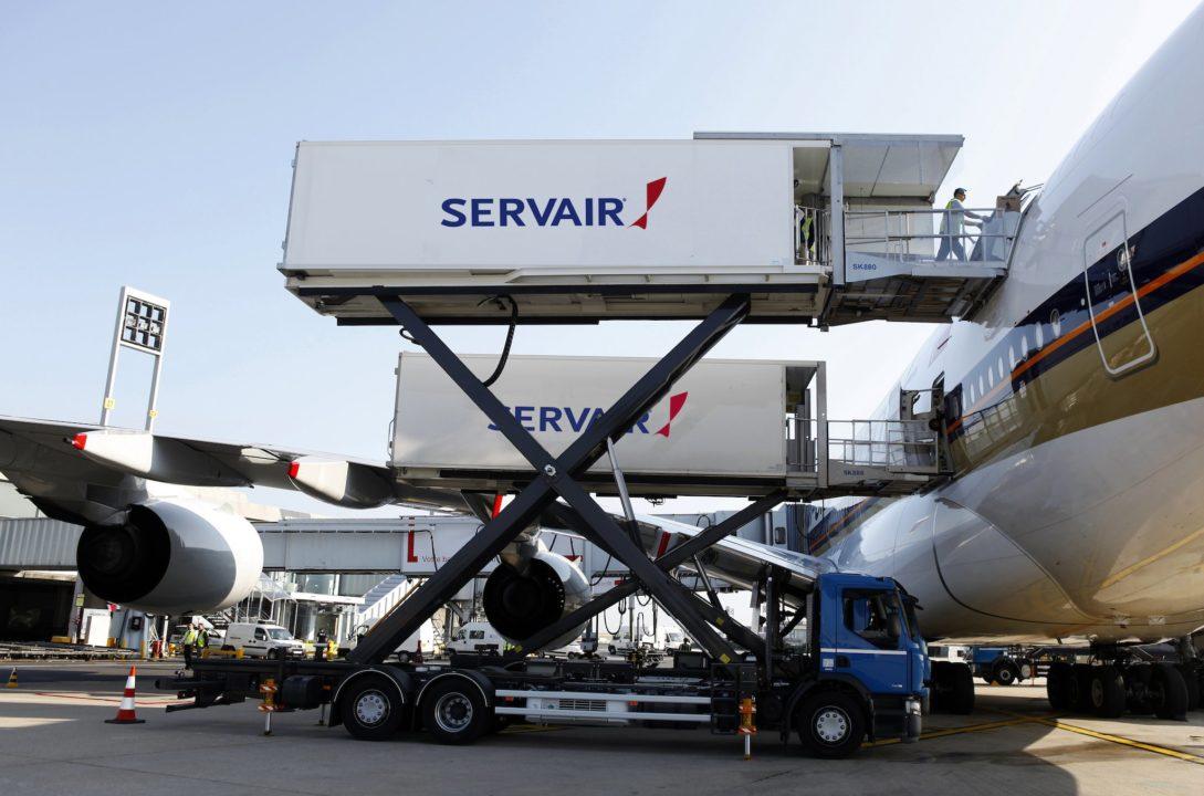Exemple de chargement d'un A380