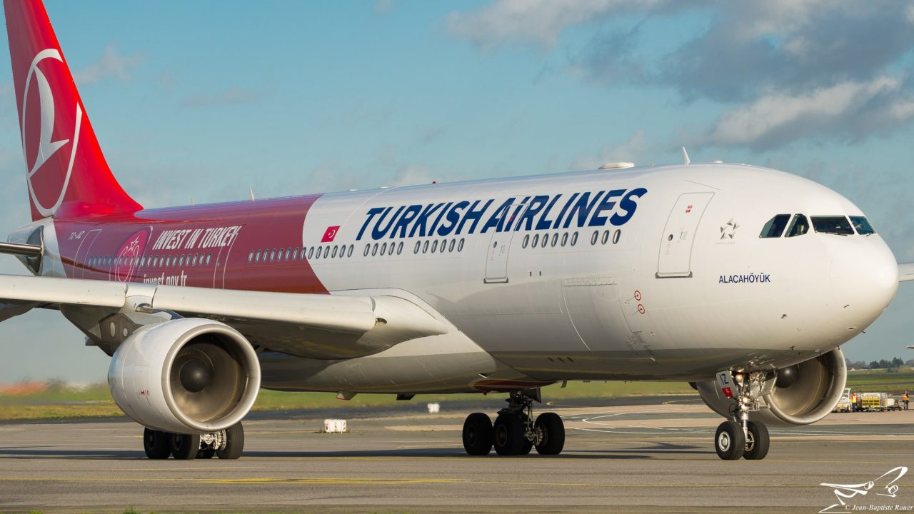 """Airbus A330-223 Turkish Airlines """"Invest in Turkey Livery"""" TC-JIZ"""