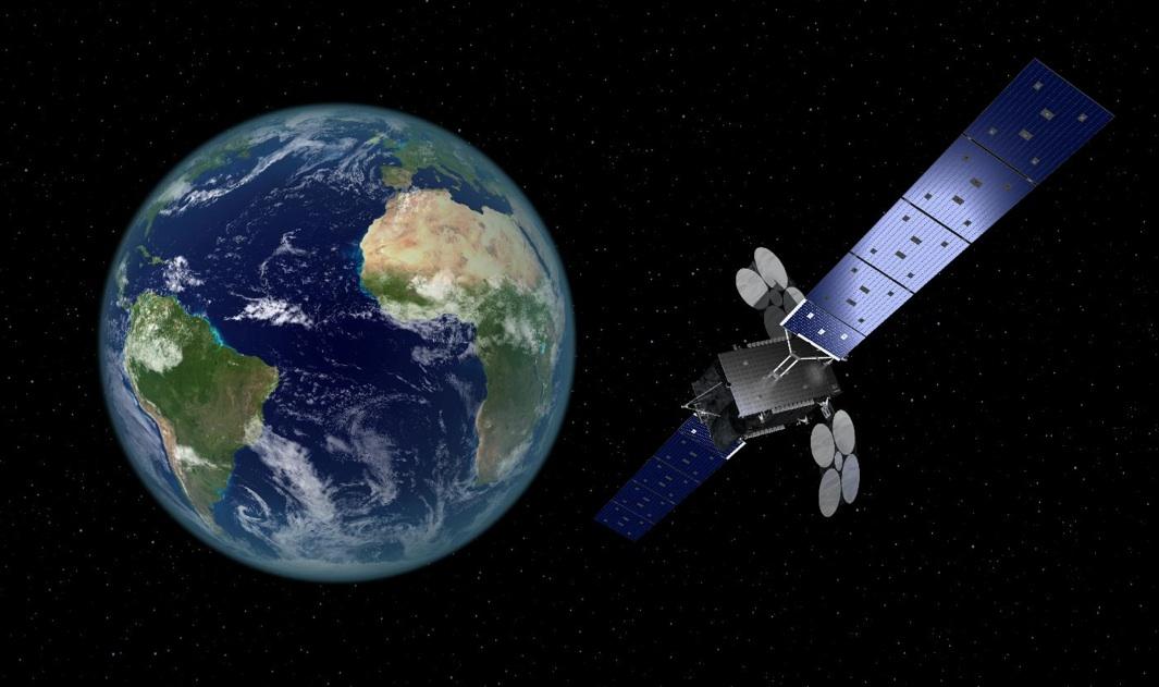 Le satellite Al Yah 3