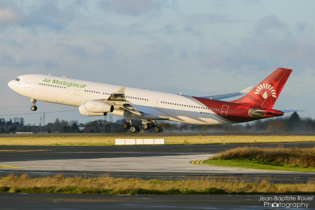 Airbus A340-313 Air Madagascar 5R-EAA