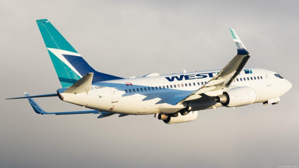 C-GQWJ Westjet Boeing 737-7CT