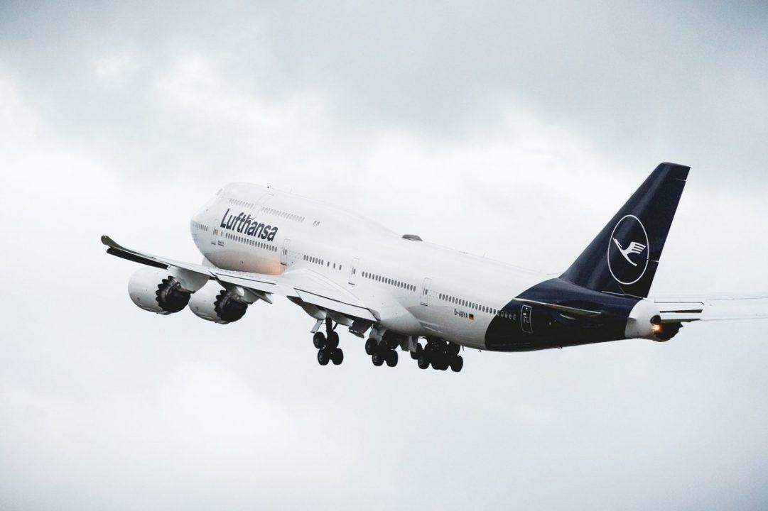 Boeing 747 avec sa nouvelle livrée