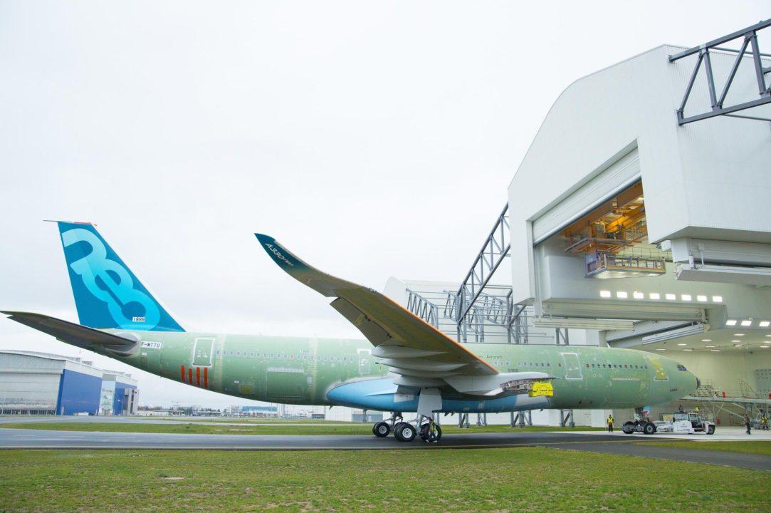 premier A330-800, MSN1888.