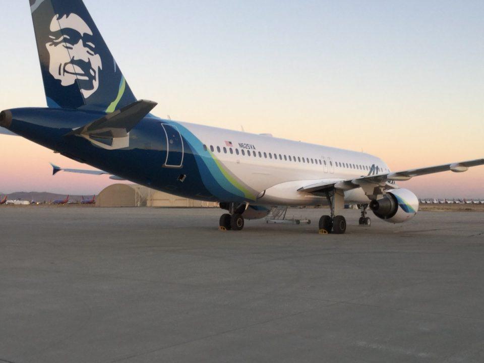 N625VA - A320-214 Alaska Airlines