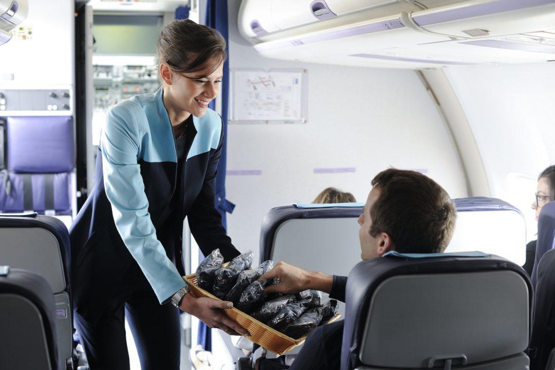 Service à bord des avions ASL Airlines France