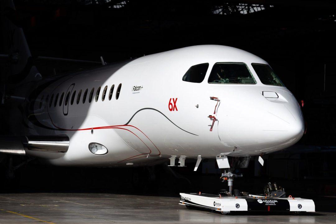 Le 1er Falcon 6X sort de l'usine de Bordeaux