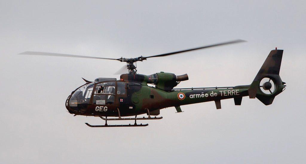 Gazelle de l'école de l'aviation légère de l'Armée de terre du Cannet des Maures