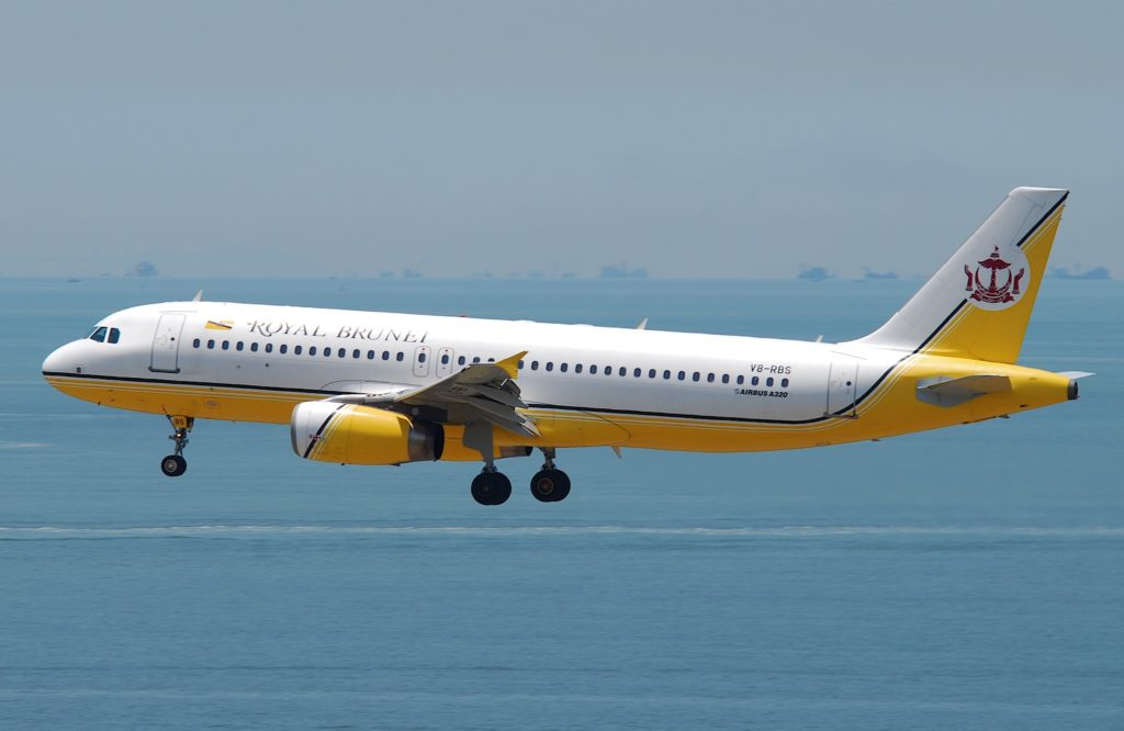 Royal Brunei Airlines Airbus A320-232 [V8-RBS]