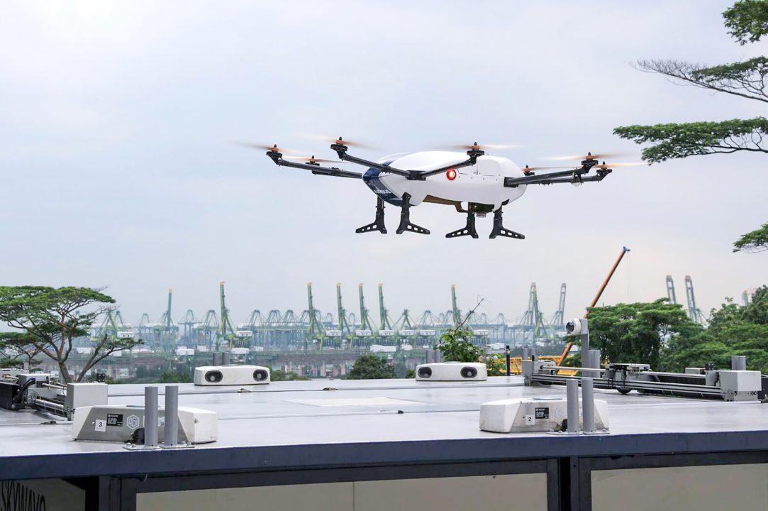 Skyways : le véhicule aérien non piloté pou livraison automatisée en milieu urbain dense