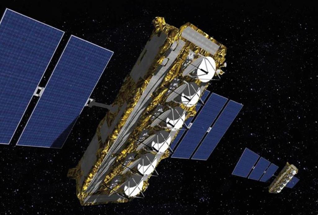 L'un des quatre nouveaux satellites O3b MEO