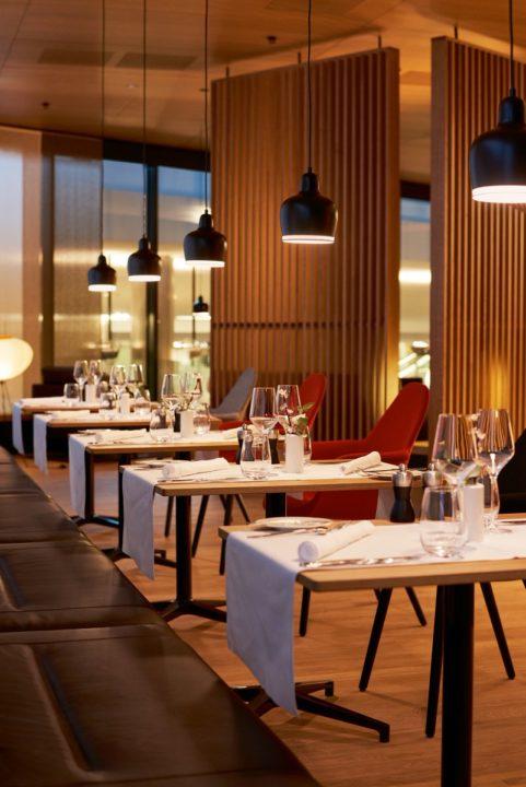 nouveau salon First Class à Zurich