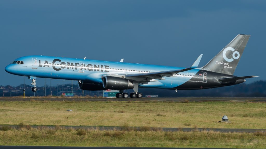Boeing 757-204 La Compagnie F-HCIE