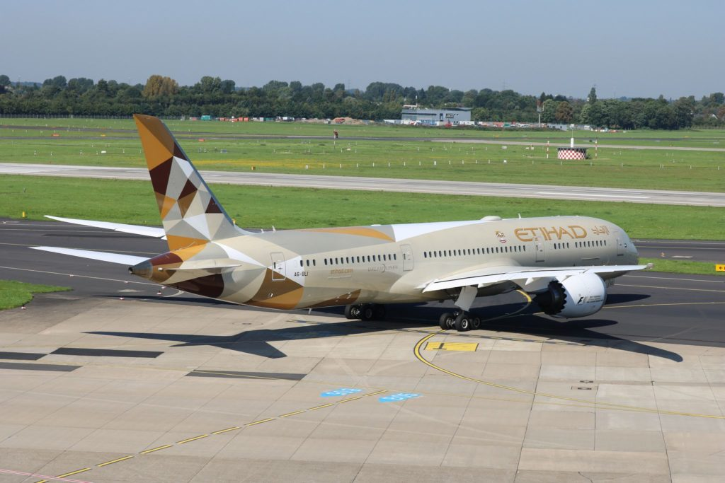 A6-BLI Boeing 787-9 Dreamliner Etihad Airways DUS