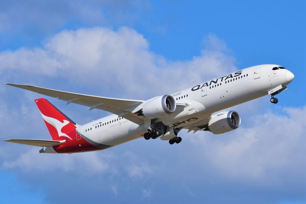 Boeing 787-9 Qantas VH-ZNA