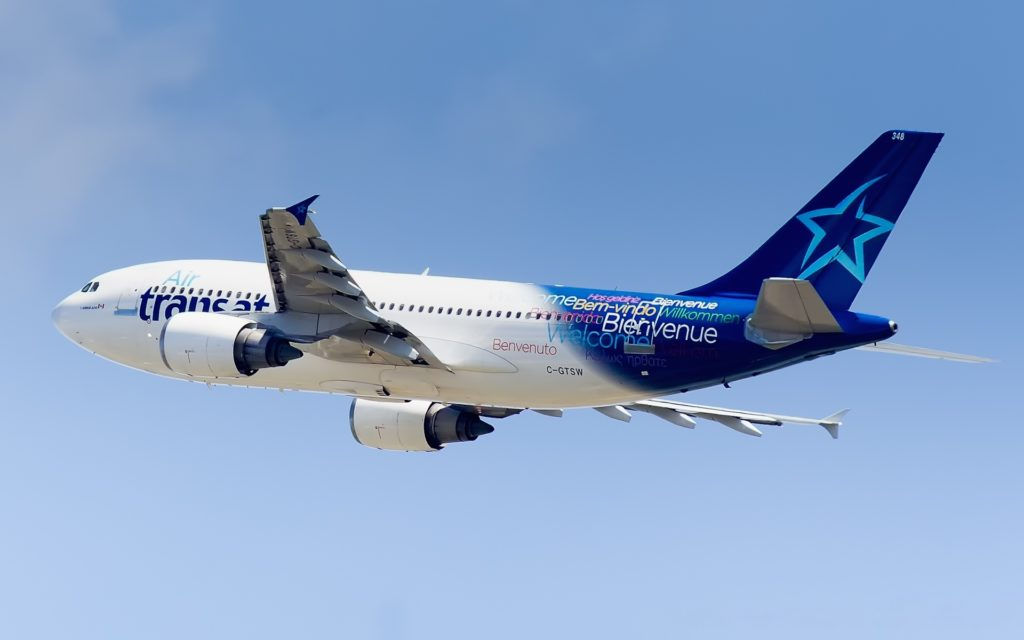 C-GTSW Air Transat Airbus A310-304 - cn 483