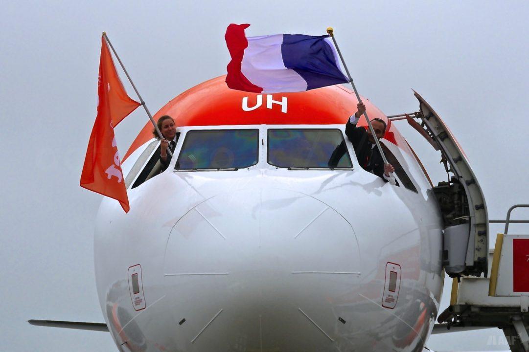 Airbus A320 G-EZUH livrée BORDEAUX