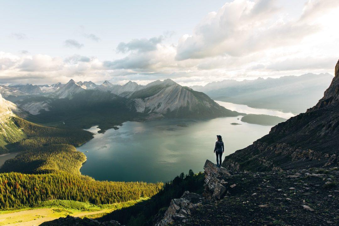 """Kananaskis Country"" - Three Isle Lake en Alberta"
