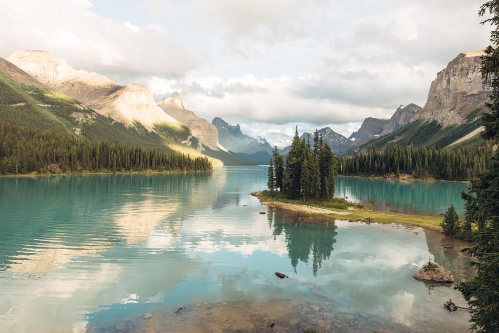 Spirit Island, Maligne Lake - Jasper National Park en Alberta