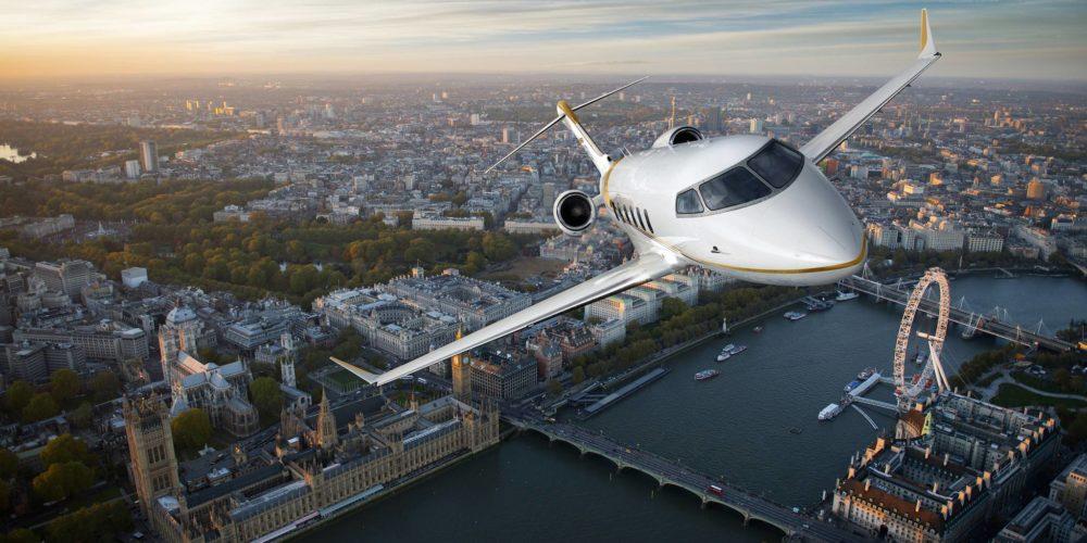 Jet d'affaires Challenger 350