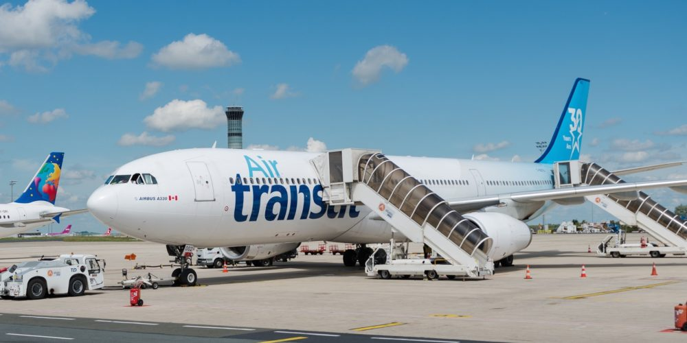 """Airbus A330-342 Air Transat """"30 years livery"""" C-GCTS"""