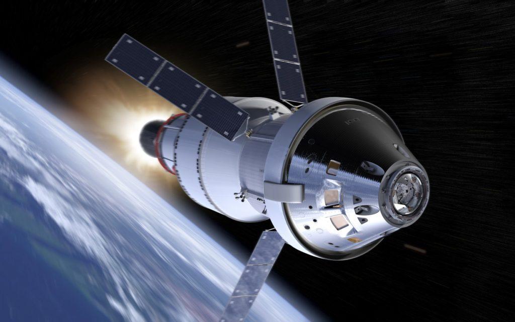 Le vaisseau d'exploration spatiale de la NASA