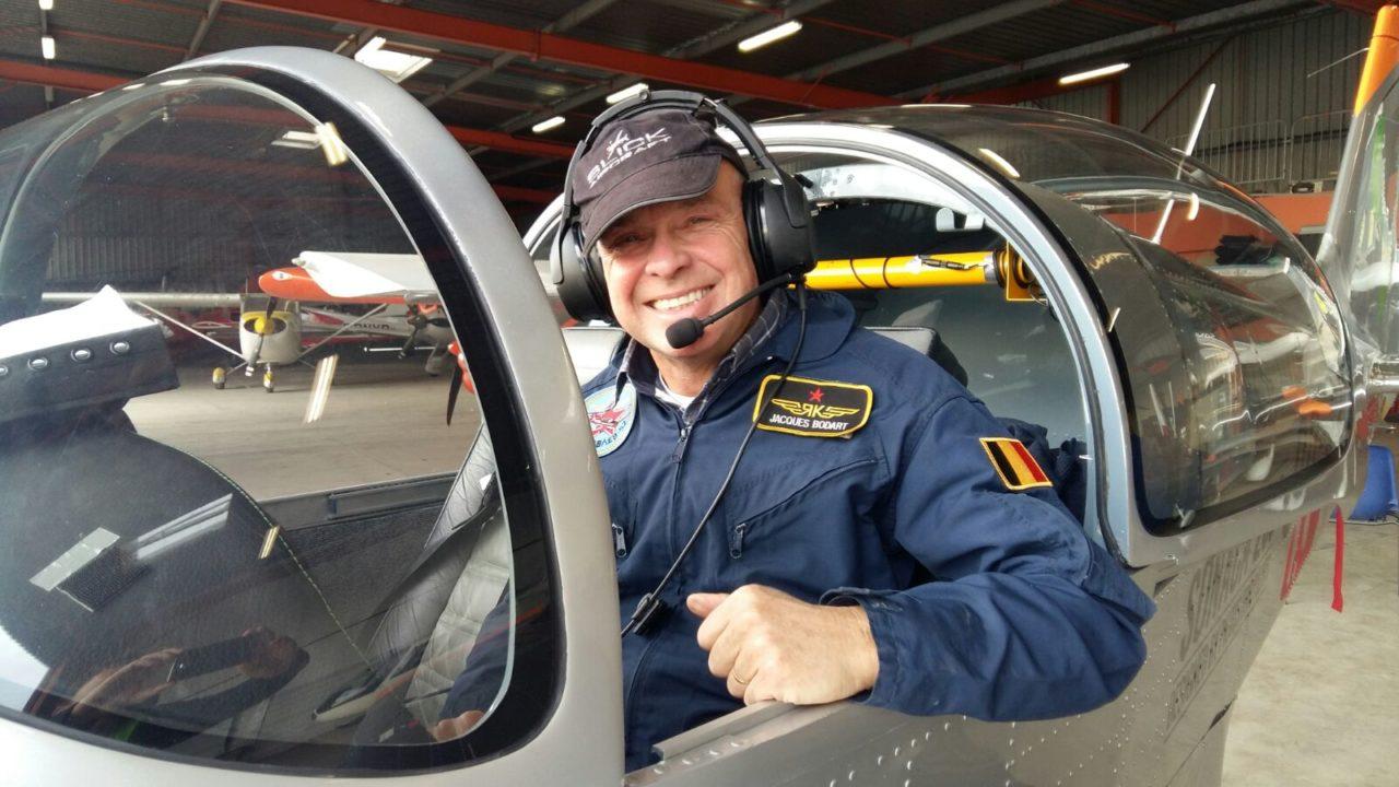Jacques Bodart pilote d'essais du Sonaca 200