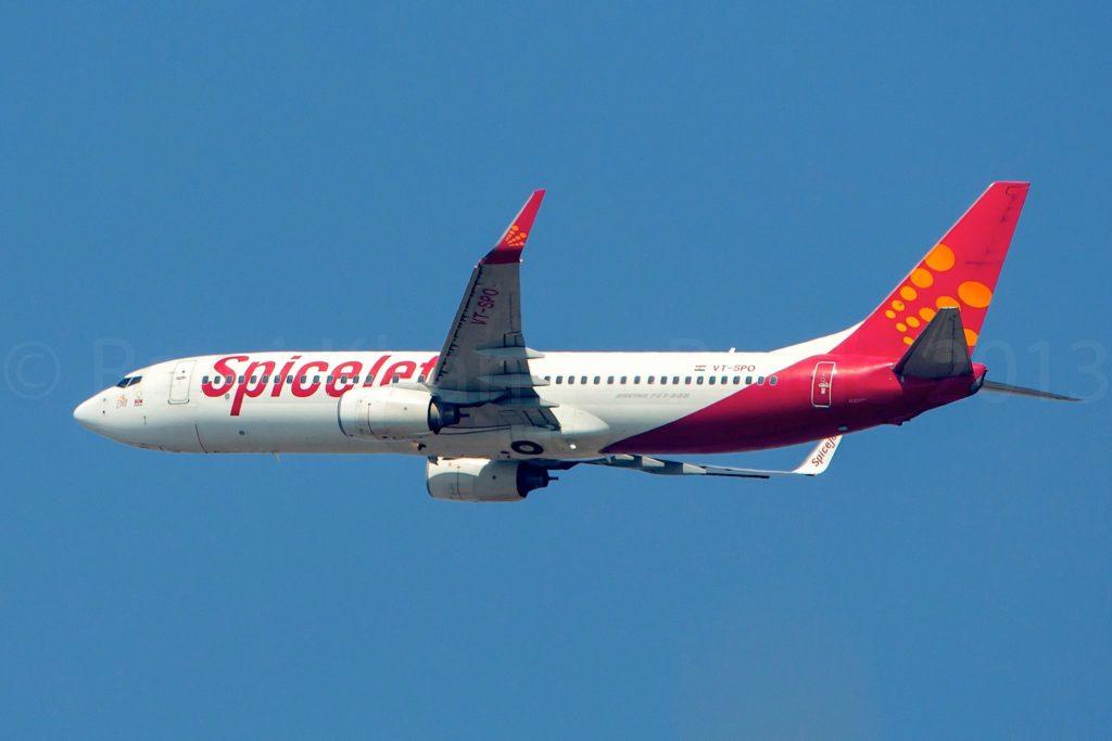 SpiceJet Boeing 737-86N(WL) VT-SPO / cn 35216
